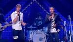 """Die Kandidaten Martin Madeja (19, l.) und Riccardo Greco(23) bei """"X Factor 2011"""""""