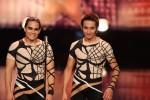 """Das Supertalent 2011: Roberto Emanuel Laurino und Maximilano Laurino aus Las Vegas zeigen """"Ikarische Spiele"""" - TV News"""