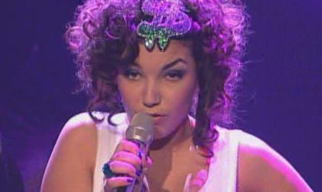 Monique Simon live bei X Factor 2011
