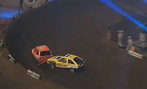 """1. Lauf 1500 ccm bei der """"TV Total Stock Car Crash Challenge 2011"""" - TV"""