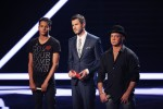 """Kassim Auale (l.) ist in der nächsten Sendung wieder dabei. Für Volker Schlag ist """"X Factor"""" zu Ende."""