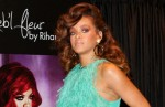 """Rihanna Launches Her """"Reb'l Fleur"""" Fragrance at House of Fraser in London on August 19, 2011"""