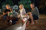 Blake (Chris Zylka), Malik (Sinqua Walls), Sara (Sara Paxton) und Nick (Dustin Milligan)