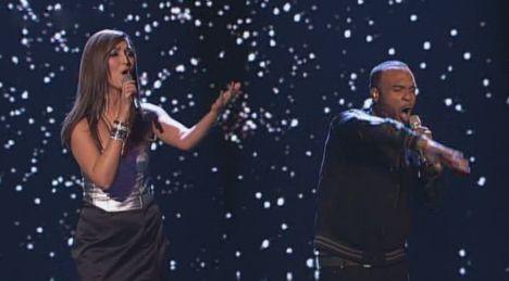 """X Factor 2011: Nica und Joe mit """"When Love Takes Over"""" von David Guetta - TV"""