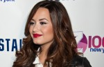 Demi Lovato Attends Z100's Jingle Ball 2011 Official Kick Off Party at Aeropostale Times Square in New York City on October 21, 2011