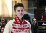 Justin Bieber with Special Guest Usher in Concert on NBC's Today Show at Rockefeller Plaza in New York City on November 23, 2011