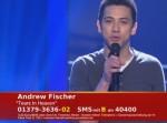 """Unser Star für Baku: Andrew Fischer fühlt """"Tears in Heaven"""" - TV News"""