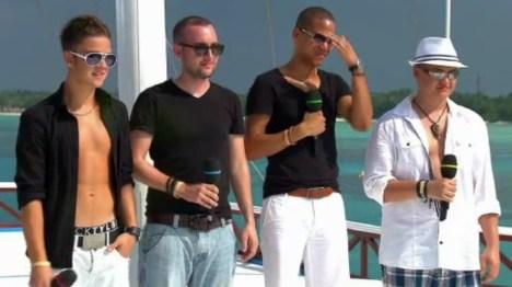 DSDS 2012: Die ersten Auftritte auf den Malediven - TV
