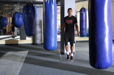 Bereitet sich auf den Kampf gegen Nico Schwanz vor: Daniel Aminati ...