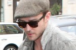 Justin Timberlake Arrives at BBC Radio One in London on August 2, 2011