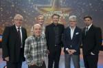 """""""Der Super-Champion 2012"""" mit Bernhard Hoecker, Andrea Sawatzki, Marcel Reif und Tim Mälzer"""