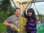 Ab ins Beet: Marion und Ingo bauen ein Dach! - TV News