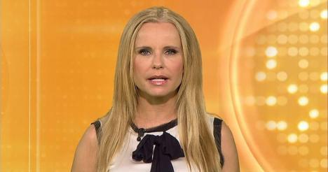Katja Burkard geht Lockenmähne flöten - TV
