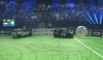 Joey Kelly schenkt Stefan Raab nichts bei der Autoball EM 2012 - TV News