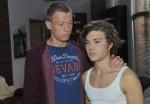 Vince (Vincent Krüger, li.) und Zac (Jascha Rust) bei GZSZ