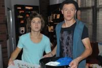 Zac (Jascha Rust, li.) und Vince (Vincent Krüger) bei GZSZ