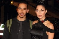 "Lewis Hamilton and Nicole Scherzinger - ""Jack Reacher"" World Premiere"