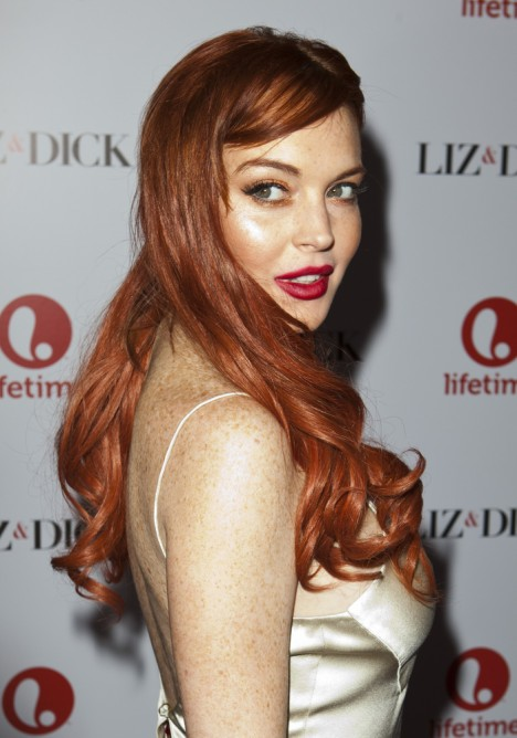 "Lindsay Lohan - ""Liz and Dick"" - Los Angeles Premiere"