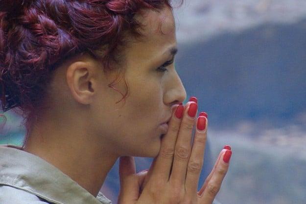 Fiona Erdmann im Dschungelcamp 2013