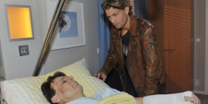 GZSZ: Dominik eilt an Gerners Krankenbett!