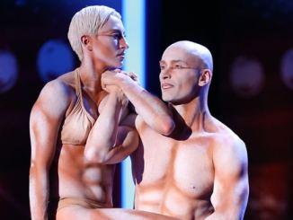 Das Supertalent 2013: Die Akrobaten Richard Jecsmen und Yana Semilet zelebrieren Langsamkeit! - TV News