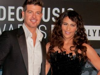 Robin Thicke, Paula Patton - 2013 MTV Video Music Awards - Arrivals