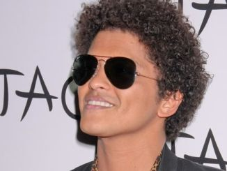 Bruno Mars Hosts the Evening at Tao Nightclub in Las Vegas on August 3, 2013