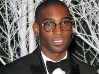 Tinie Tempah - Winter Whites Gala in Aid of Centrepoint at Kensington Palace in London on November 26, 2013