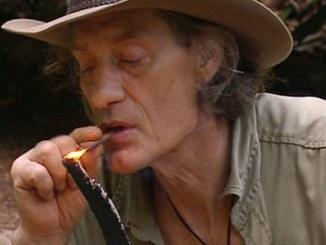 Dschungelcamp 2014: Winfried Glatzeder raucht kreativ! - TV