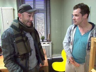 Basti hat Probleme mit dem Aufbau eines neuen Regals, will sich aber nicht von Rob helfen lassen, da er ihn als unliebsamen Konkurrenten sieht...