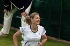 Steffi Graf nimmt nur noch selten Tennisschläger in die Hand