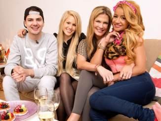 Verena Wriedt, Angelina Heger, Gabby de Almeida Rinne und Jimi Blue Ochsenknecht feiern Beachparty! - TV