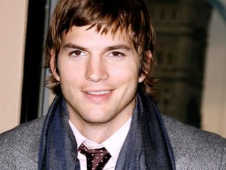 Ashton Kutcher Promoting The Guardian Attends A Rescue on the River Thames