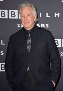 Alan Rickman - BBC Films' 25th Anniversary Reception