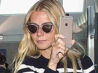 Gwyneth Paltrow Sighted at LAX Airport