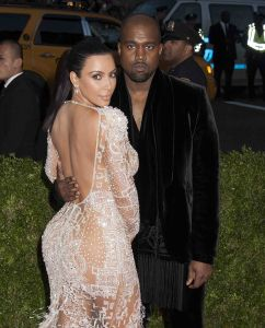 "Kanye West and Kim Kardashian - ""China: Through The Looking Glass"" Costume Institute Benefit Gala"