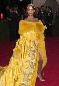 """Rihanna - """"China: Through The Looking Glass"""" Costume Institute Benefit Gala - Arrivals"""