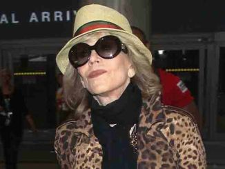 Jane Fonda Sighted Arriving at LAX Airport on May 21, 2015