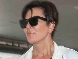 Kris Jenner Sighted Arriving at LAX Airport on July 14, 2015