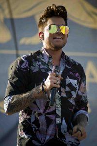 Adam Lambert: Auftritt trotz Regen und Gewitter - Musik News