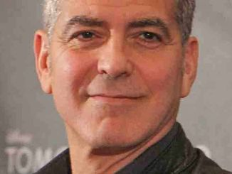 """George Clooney - """"Tomorrowland"""" Press Conference at Montage Beverly Hills"""