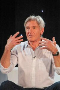 """Harrison Ford - """"Star Wars: The Force Awakens"""" Los Angeles Press Conference"""