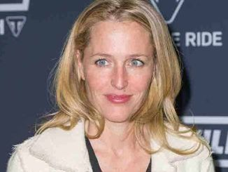 Gillian Anderson - Triumph Motorcycles Global 2016 Bonneville VIP Launch Party