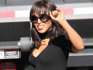 """Kerry Washington Sighted Arriving at """"Jimmy Kimmel Live!"""" on May 12, 2016"""