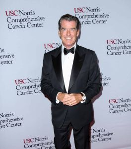 Pierce Brosnan - USC Norris Cancer Center Gala at the Beverly Wilshire Four Seasons Hotel in Beverly Hills on October 10, 2015