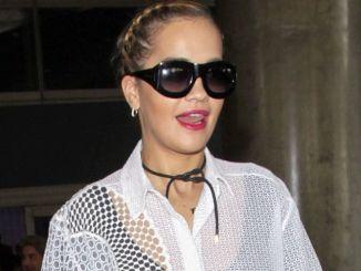 Rita Ora Sighted at LAX Airport on October 7, 2016