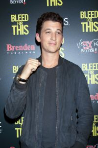 "Miles Teller - ""Bleed for This"" Las Vegas Screening and Brenden Celebrity Star Ceremony"