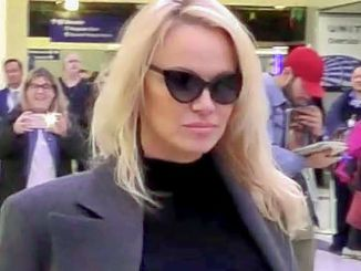Pamela Anderson Sighted at LAX Airport on January 18, 2017