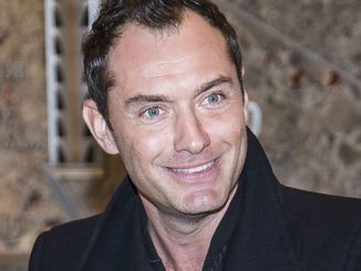 """Jude Law Lights the Empire State Building in Honor of """"Only Make Believe"""""""
