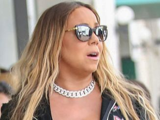 Mariah Carey Sighted in Los Angeles on May 25, 2017